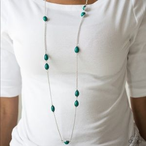 Pacific Piers green necklace